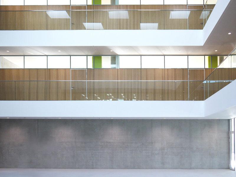 Architekten für Hochschulen Uni Pausenhalle