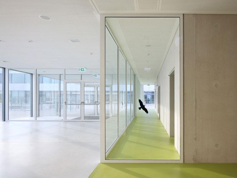 Architekten finden Schule Sporthalle Kita