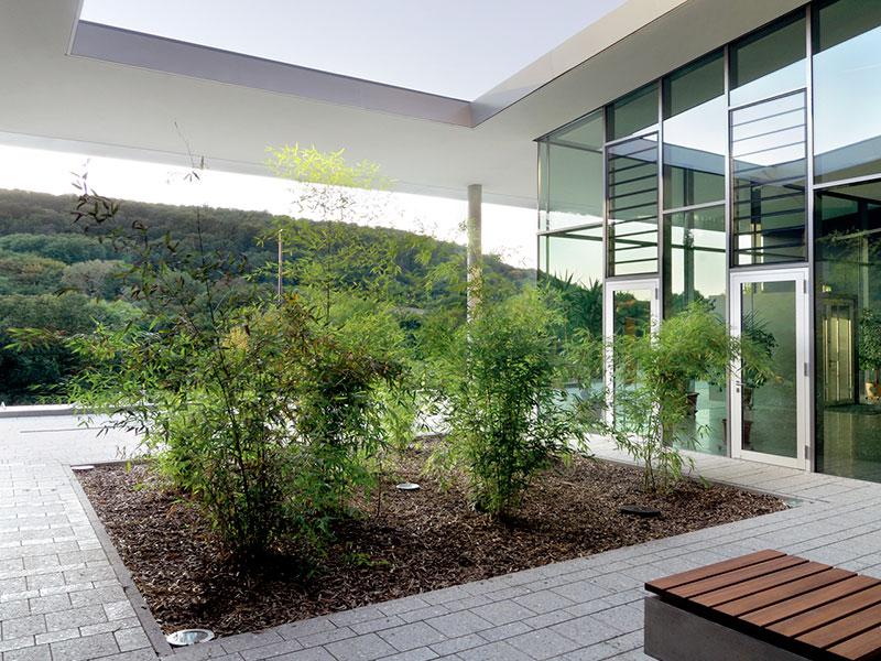 Architekt Schule Hort Sporthalle