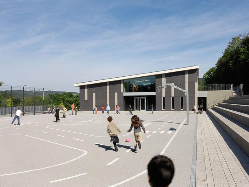 Architekten finden für Schulbau, Bau von Kitas und Sporthallen