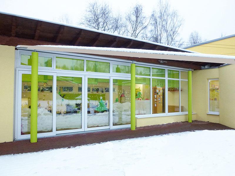 blick von außen kinderhaus jona offenbach