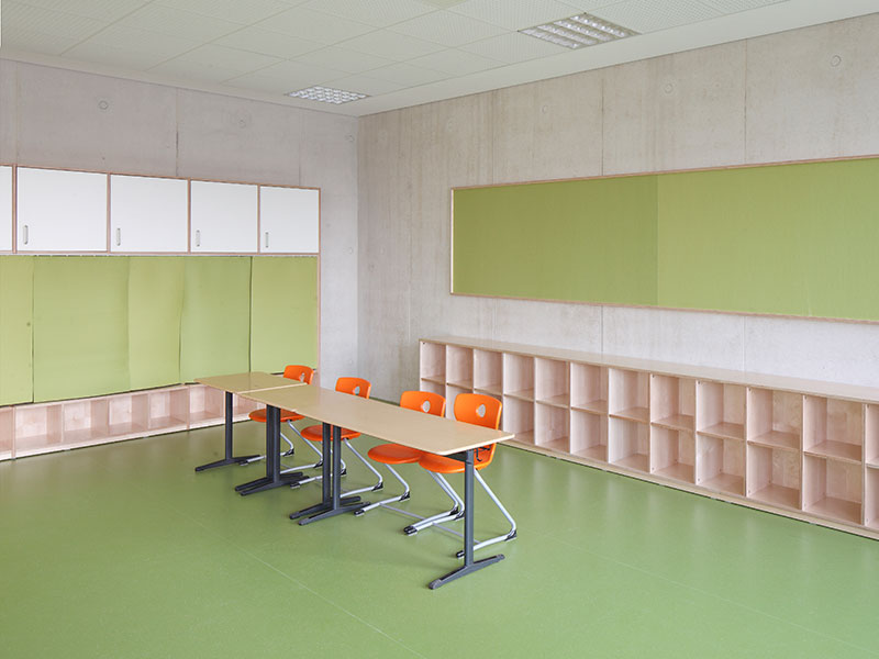neubau grundschule bad soden innenarchitektur arbeitsraum